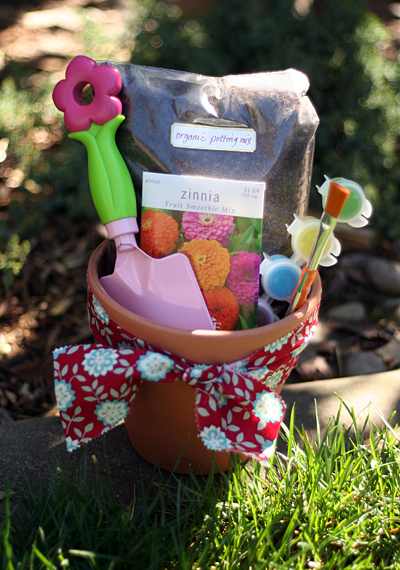 flower planting kit for kids