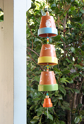 Craftionary for Terracotta wind chimes