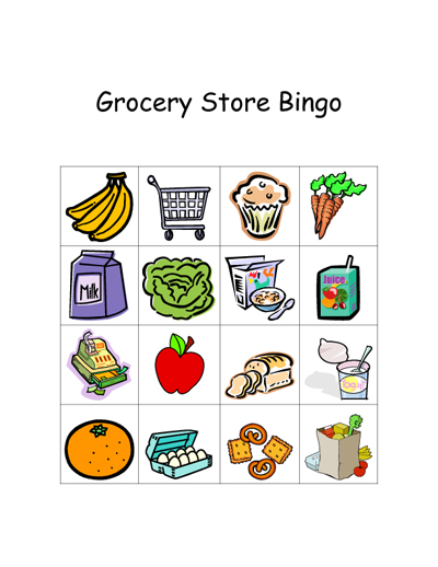Post image for Grocery Store Games