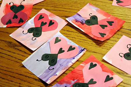 hearts with words of love one a day for valentines day feb 114