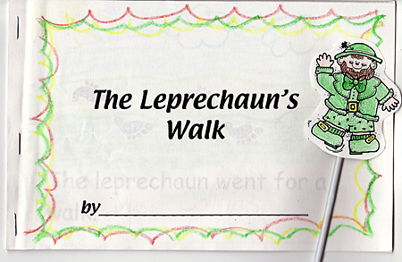 printable leprechaun's walk book for kids