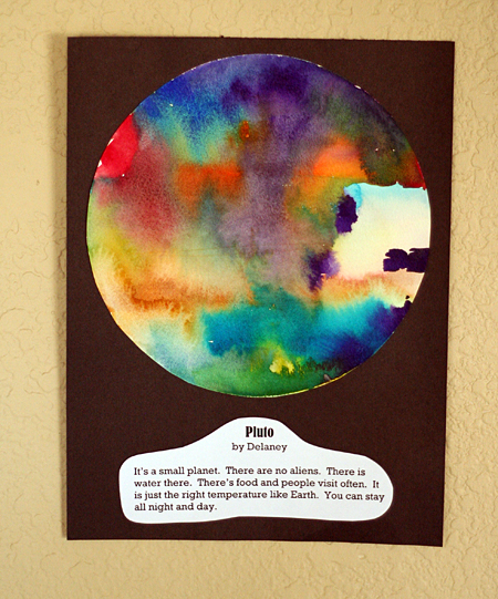 create a planet art project