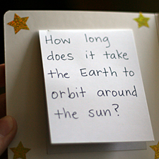 space fact book for kids