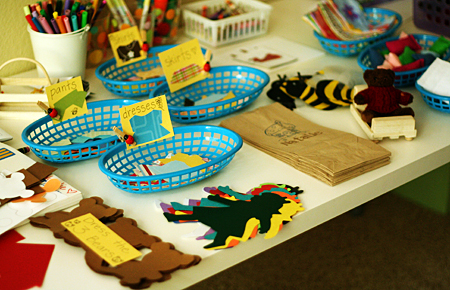 Goldilocks party activities and crafts