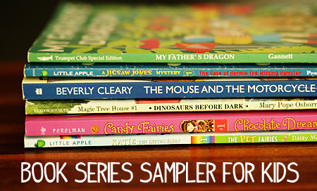 Book Series Sampler - Gi