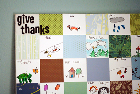 Post image for Give Thanks – Paper Quilt