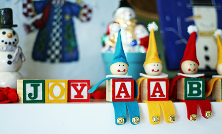 alphabet block elves