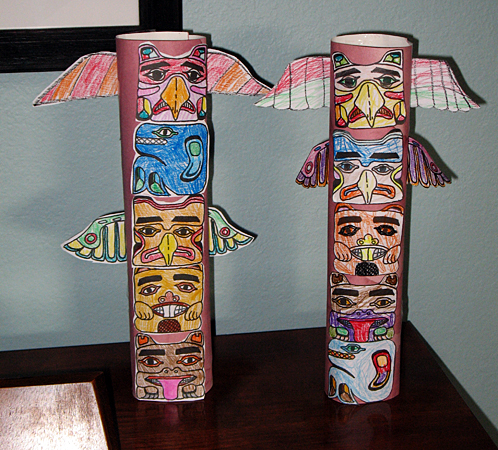 Totem Pole Art Project