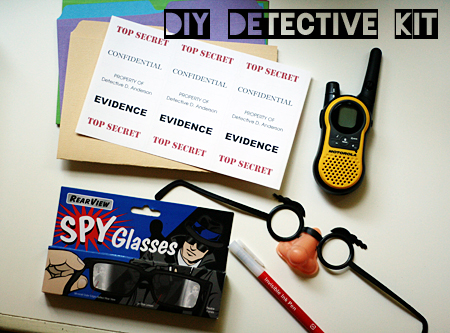 detective/spy kit for kids