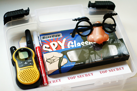 diy detective/spy kit for kids
