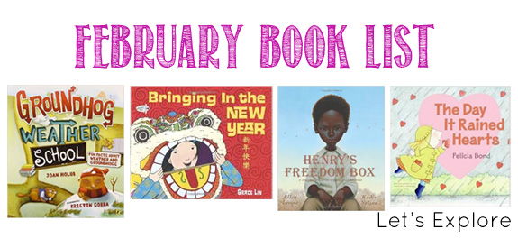 February Book List for Kids | Let's Explore