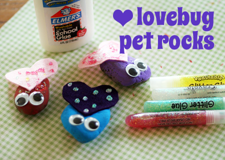 lovebug pet rocks