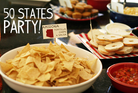 50 States Birthday Party | Let's Explore