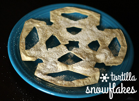 Tortilla Snowflakes | Let's Explore
