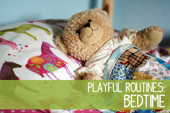 Playful Routines for Bedtime | Let's Explore