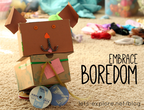 How I embrace (and respond to) boredom