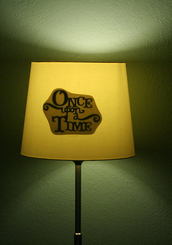 Once upon a time lamp